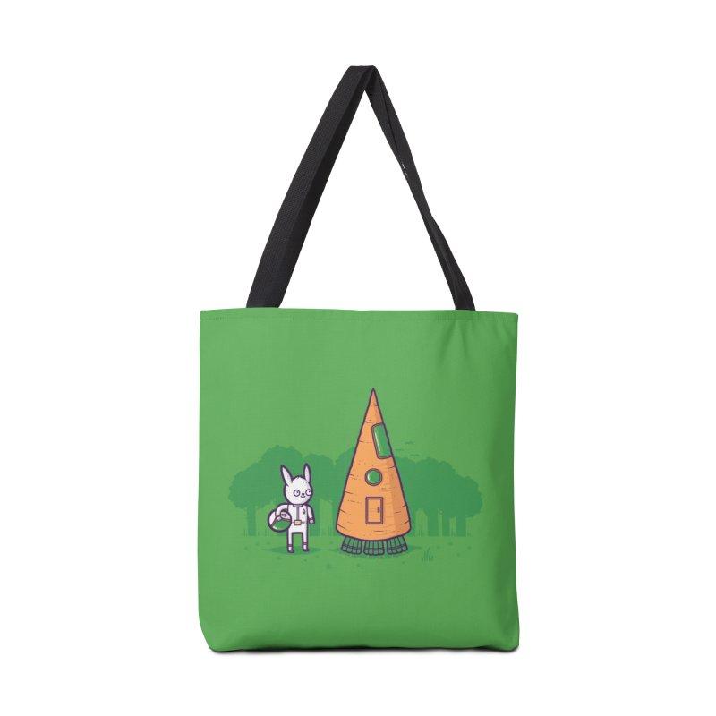 Carrot Rocket Accessories Bag by Threadless Artist Shop