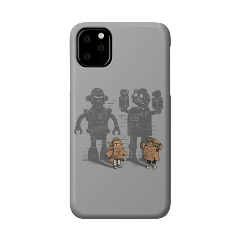 Carton Robots Accessories Phone Case by Threadless Artist Shop
