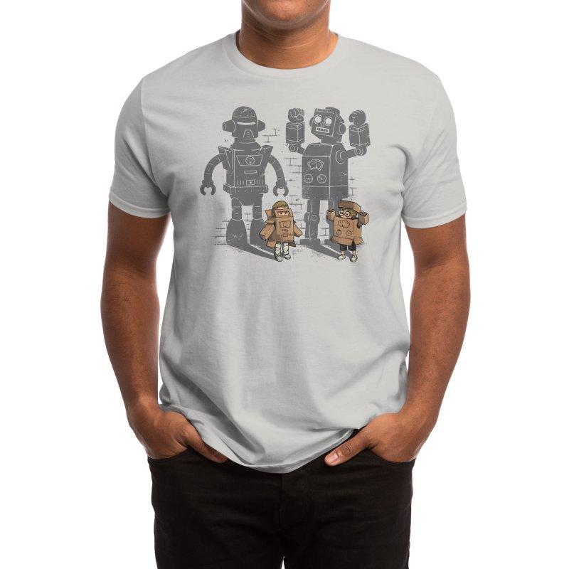 Carton Robots Men's T-Shirt by Threadless Artist Shop