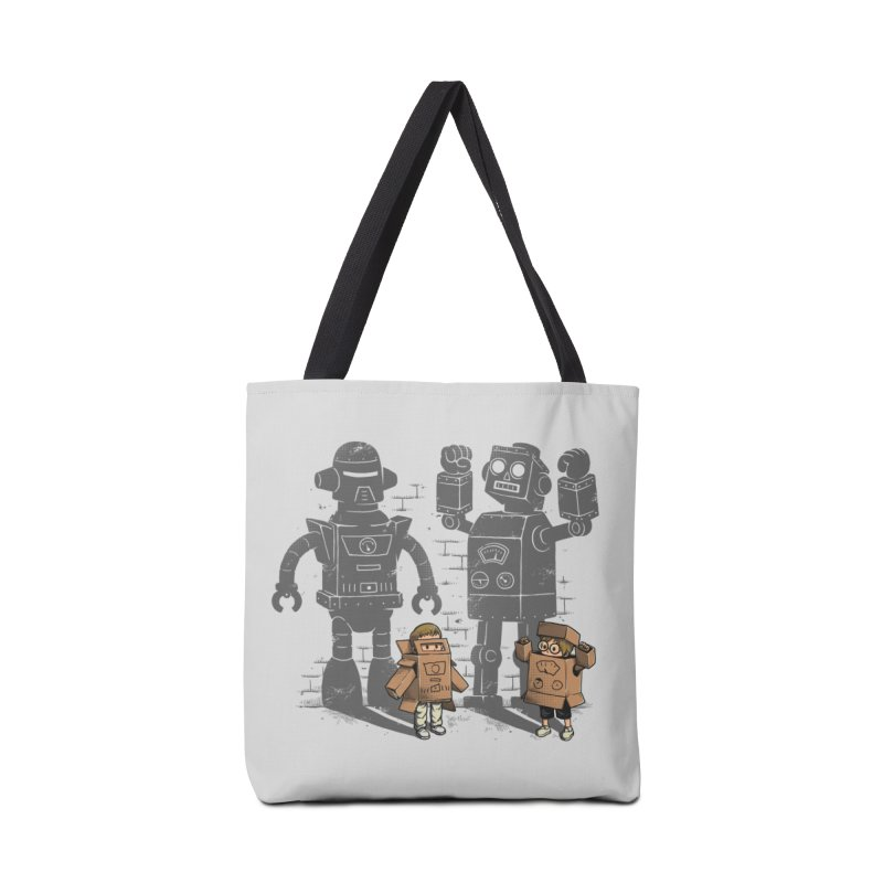 Carton Robots Accessories Bag by Threadless Artist Shop