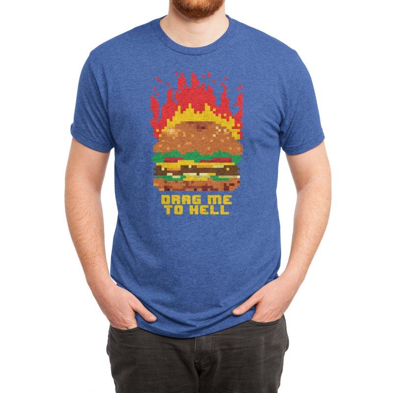 Burger Fever Men's T-Shirt by Threadless Artist Shop
