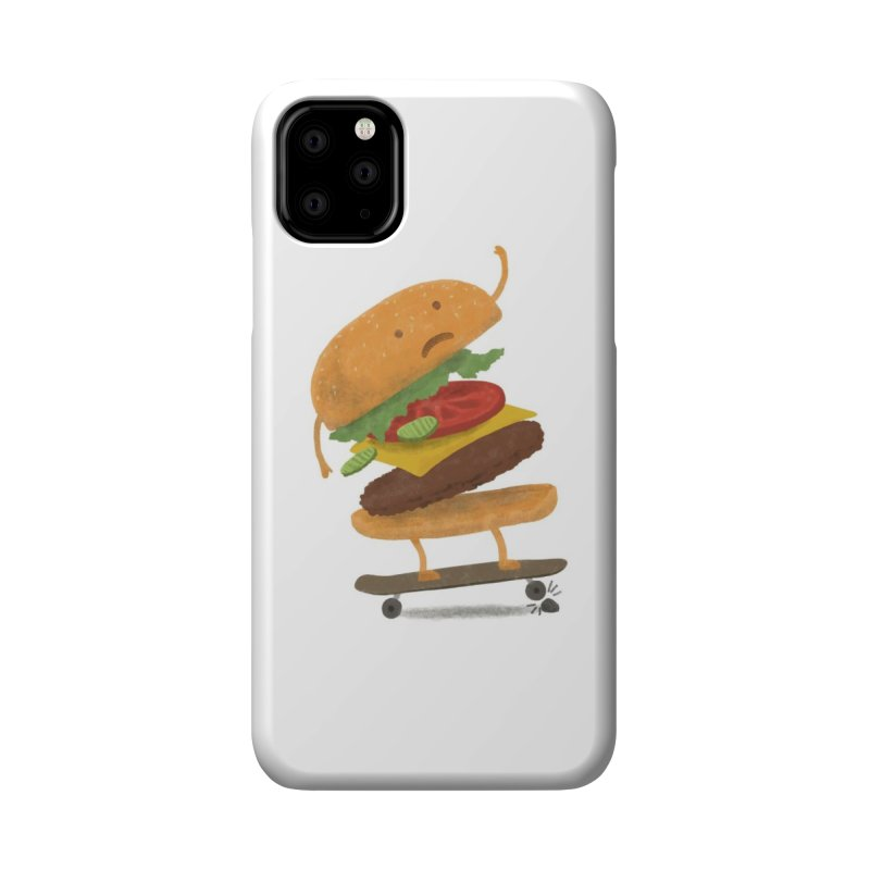 Burger Wipeout Accessories Phone Case by Threadless Artist Shop