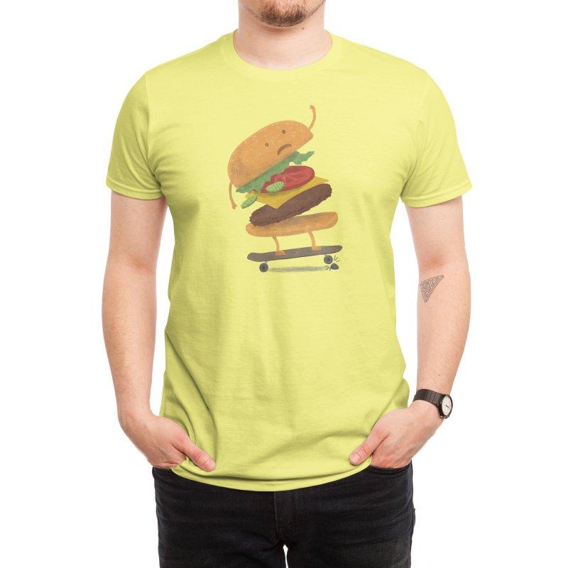 Burger Wipeout Men's T-Shirt by Threadless Artist Shop
