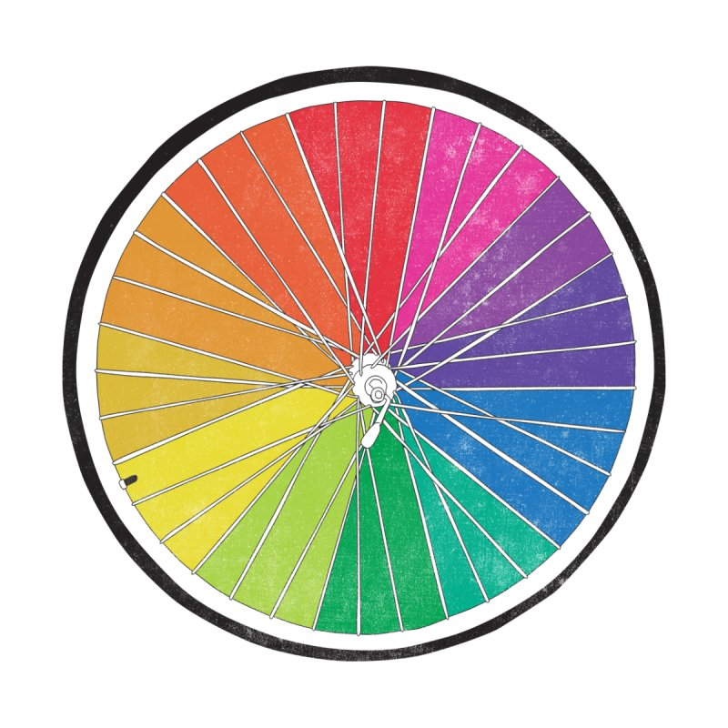 Color Wheel Men's T-Shirt by Threadless Artist Shop