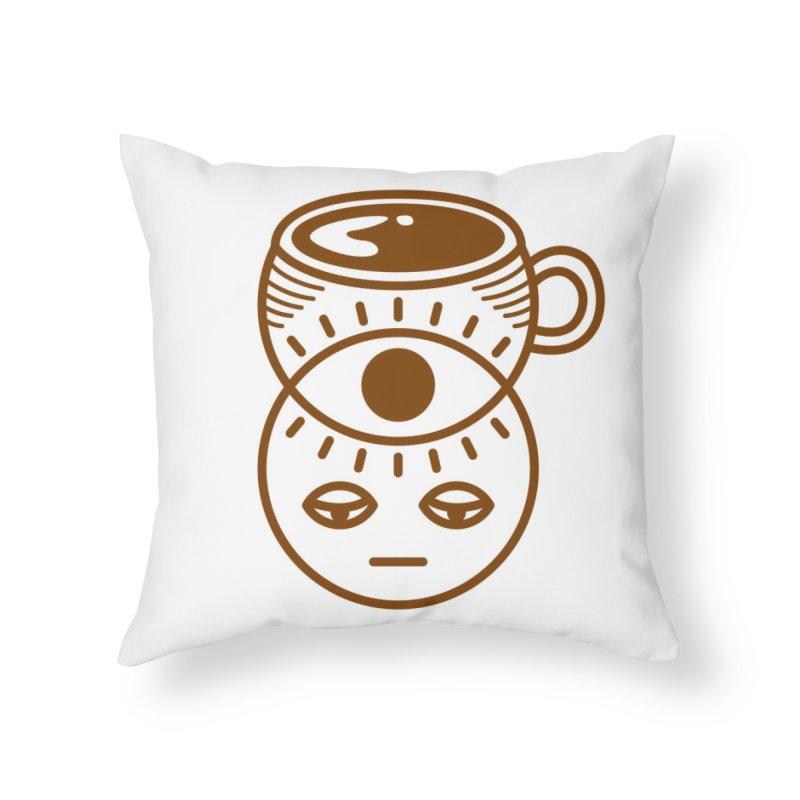 Ca(venn)ine Home Throw Pillow by Threadless Artist Shop