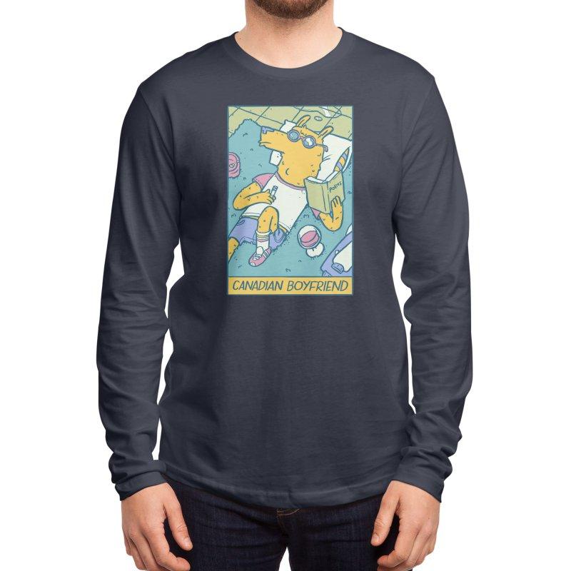 Canadian Boyfriend Men's Longsleeve T-Shirt by Threadless Artist Shop