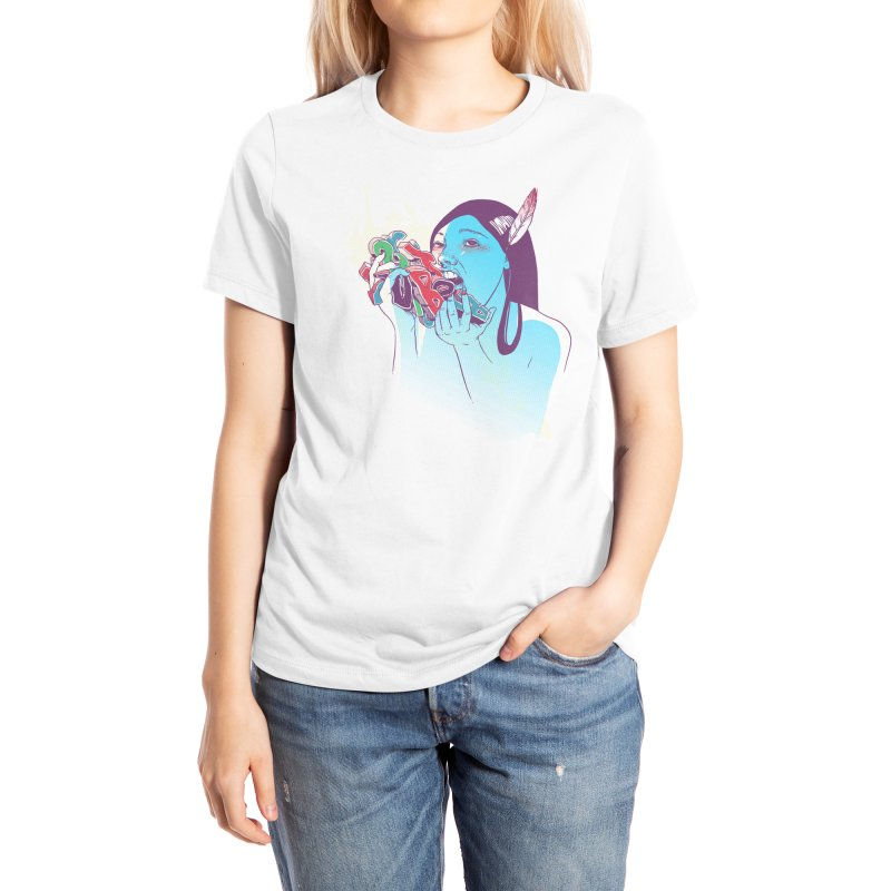 Consumption Women's T-Shirt by Threadless Artist Shop