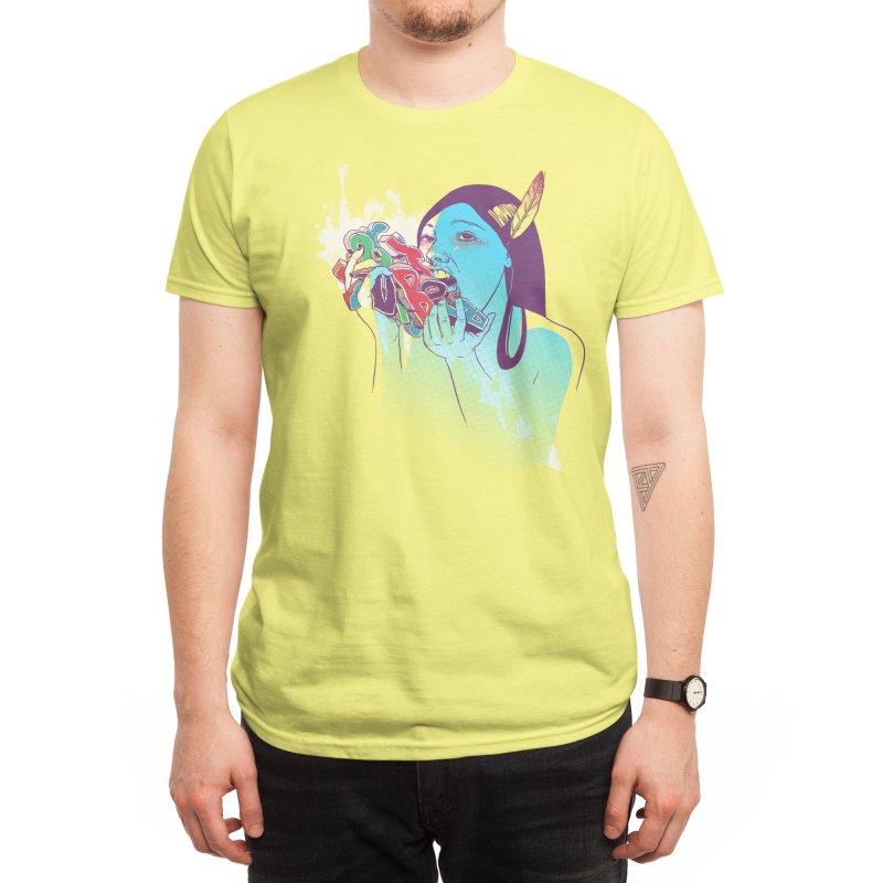 Consumption Men's T-Shirt by Threadless Artist Shop
