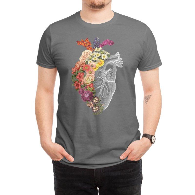 Flower Heart Spring Men's T-Shirt by Threadless Artist Shop