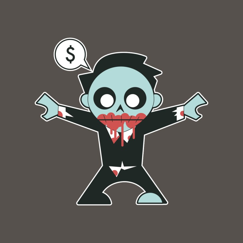 Corporate Zombie Men's T-Shirt by Threadless Artist Shop