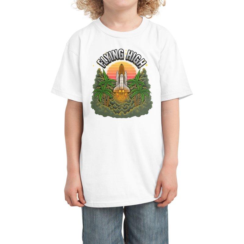 Flying High Kids T-Shirt by Threadless Artist Shop