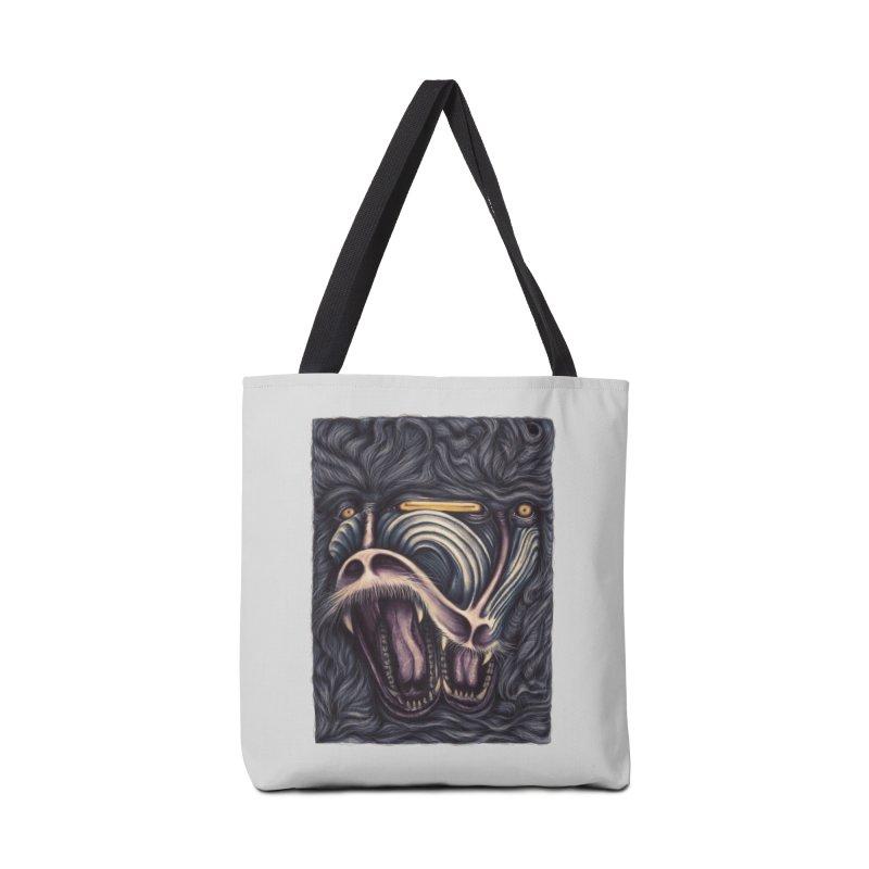 Crazed Monkeys Accessories Bag by Threadless Artist Shop