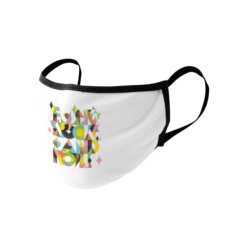 Folk Rock And Roll Accessories Face Mask by Threadless Artist Shop