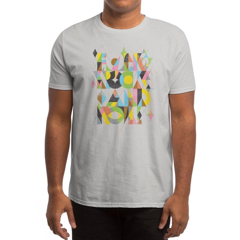 Folk Rock And Roll Men's T-Shirt by Threadless Artist Shop