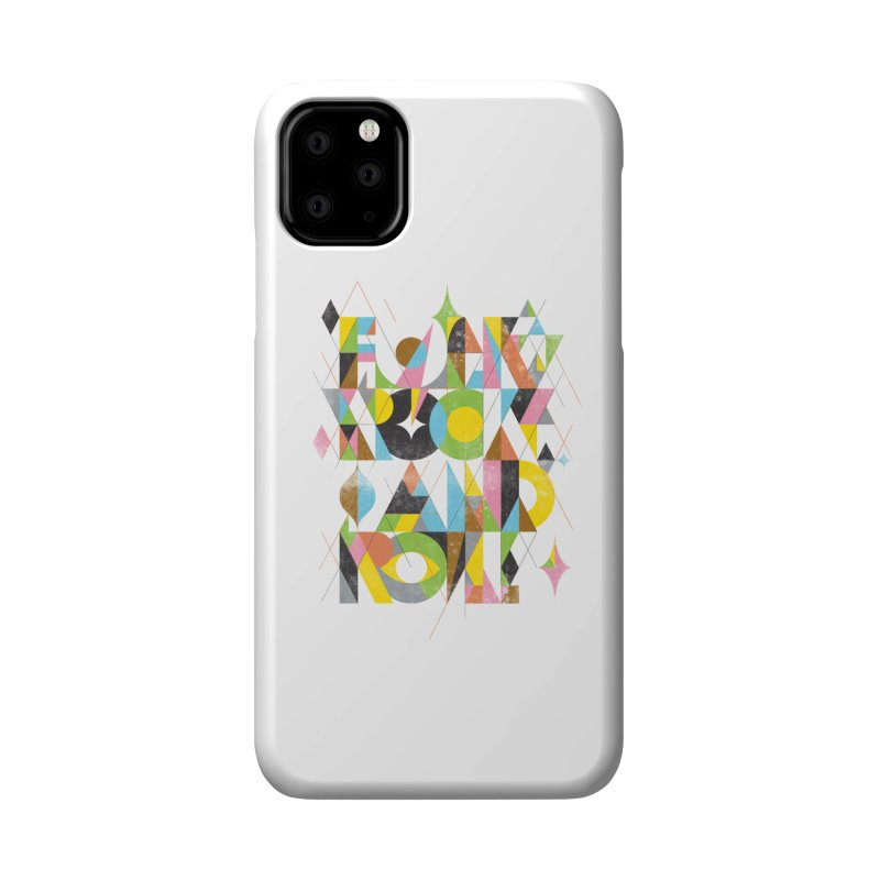 Folk Rock And Roll Accessories Phone Case by Threadless Artist Shop