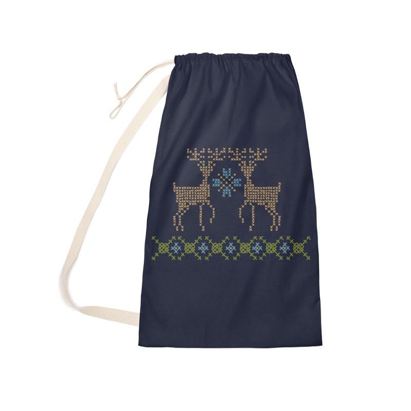 Cross Threaded Accessories Bag by Threadless Artist Shop