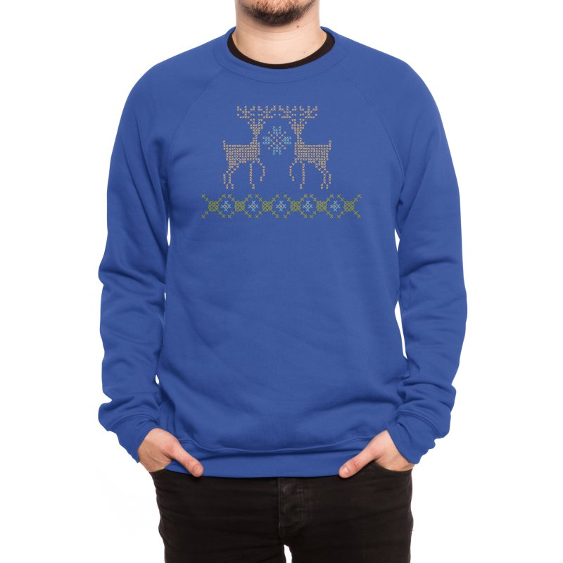 Cross Threaded Men's Sweatshirt by Threadless Artist Shop