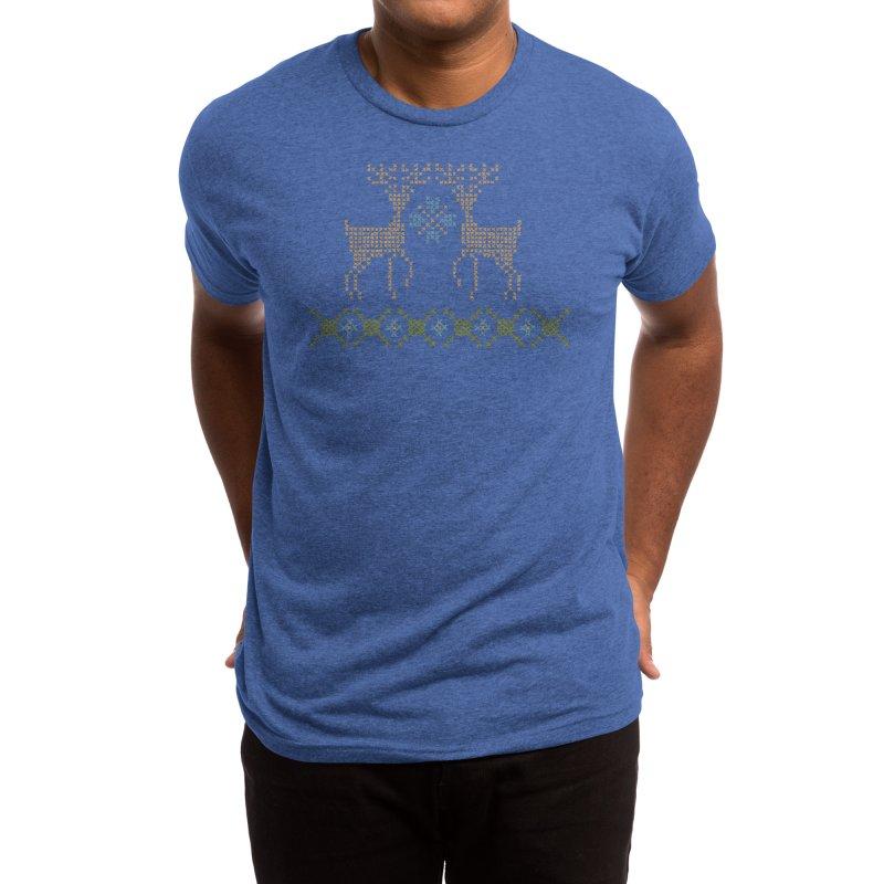 Cross Threaded Men's T-Shirt by Threadless Artist Shop