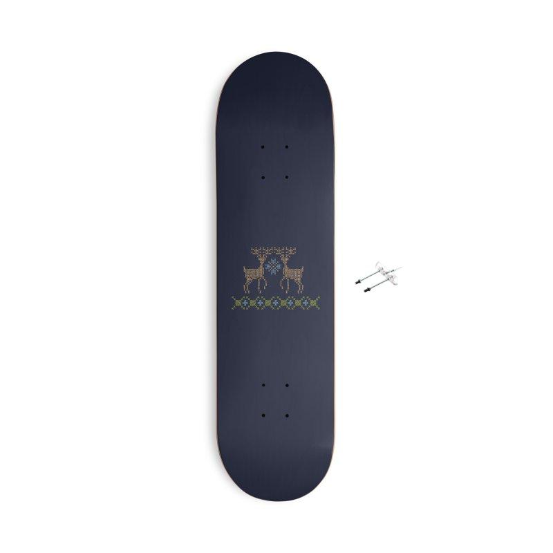 Cross Threaded Accessories Skateboard by Threadless Artist Shop
