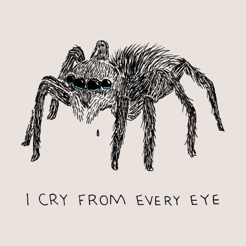 Cry From Every Eye Men's Tank by Threadless Artist Shop
