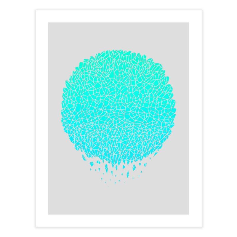 Crystal Sphere Home Fine Art Print by Threadless Artist Shop