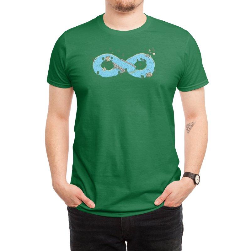 Current Men's T-Shirt by Threadless Artist Shop