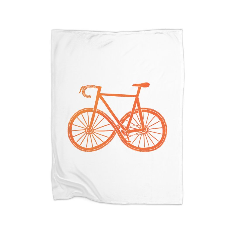 Cycle Forever: DTG Home Blanket by Threadless Artist Shop
