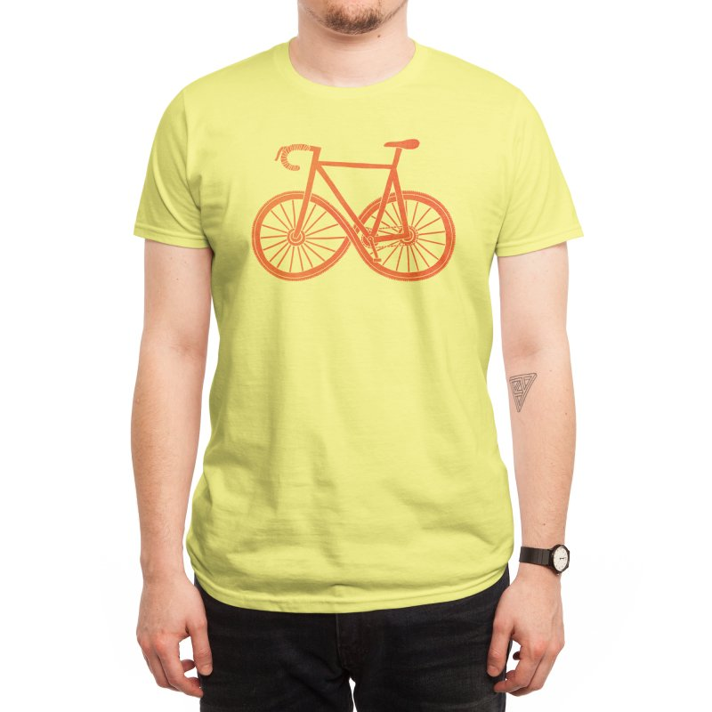 Cycle Forever: DTG Men's T-Shirt by Threadless Artist Shop