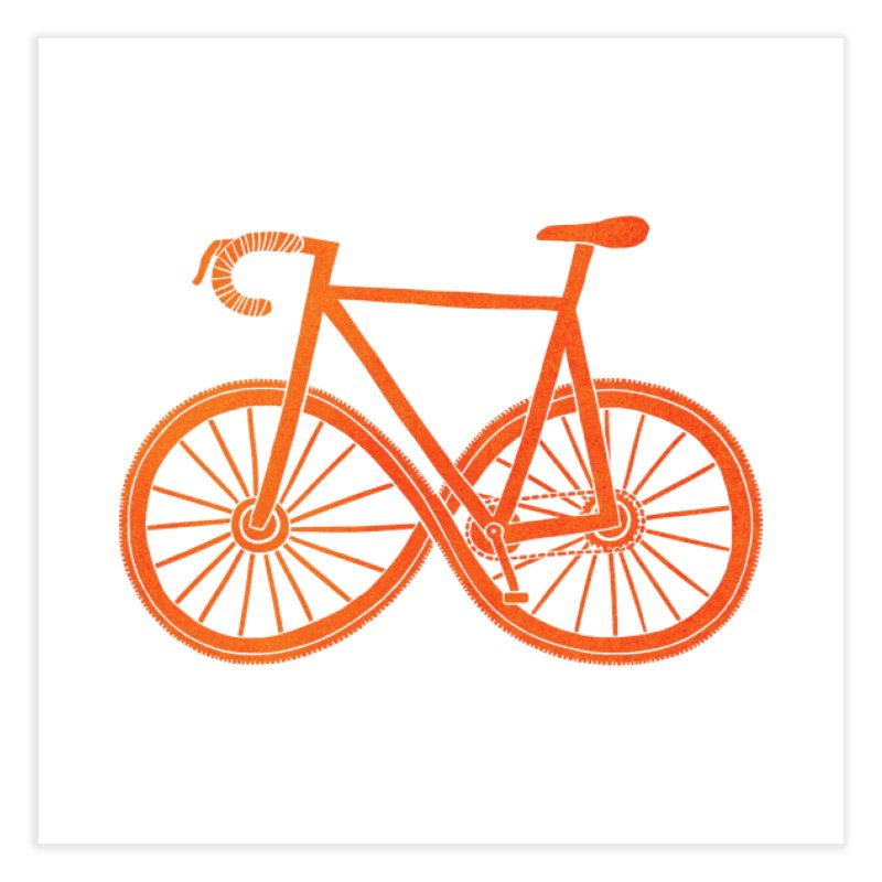 Cycle Forever: DTG Home Fine Art Print by Threadless Artist Shop