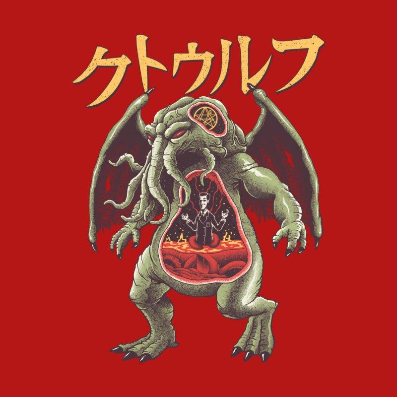 Kaiju Cthulhu Men's T-Shirt by Threadless Artist Shop