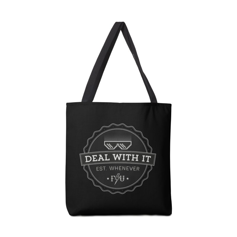 DEAL WITH IT Accessories Bag by Threadless Artist Shop