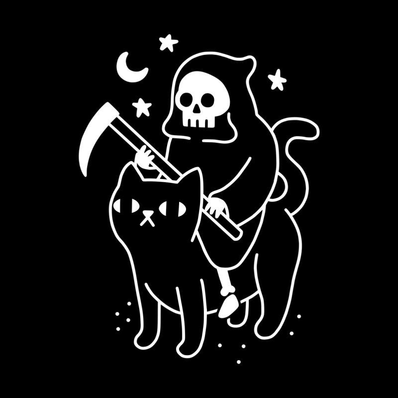 Death Rides A Black Cat Men's T-Shirt by Threadless Artist Shop