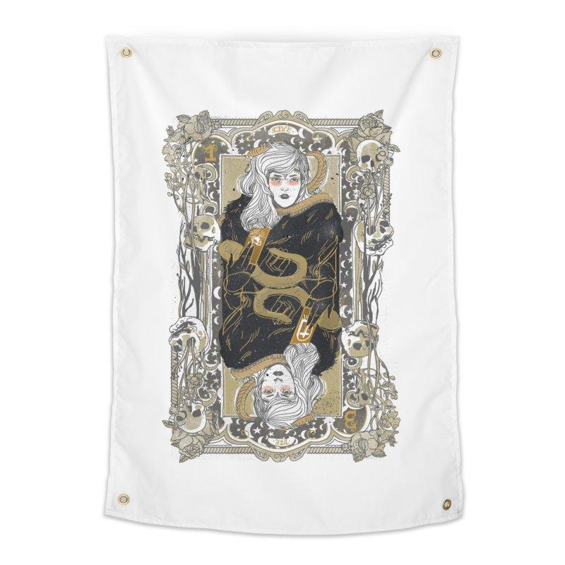 Fortune teller Home Tapestry by Threadless Artist Shop