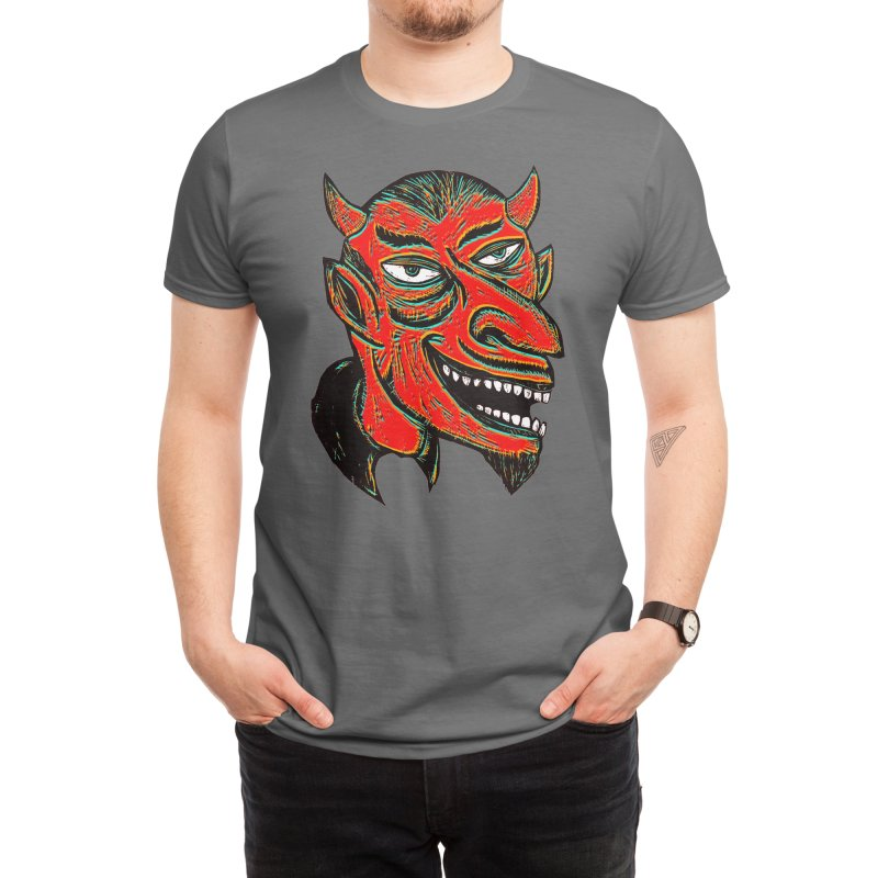Devil Head Men's T-Shirt by Threadless Artist Shop