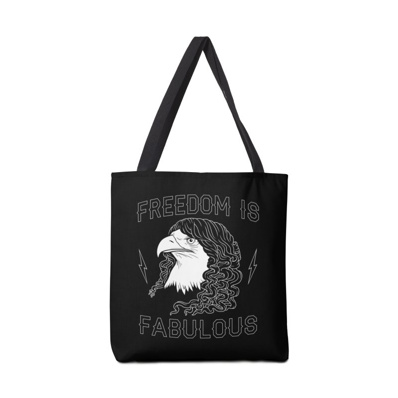 Freedom is Fabulous Accessories Bag by Threadless Artist Shop