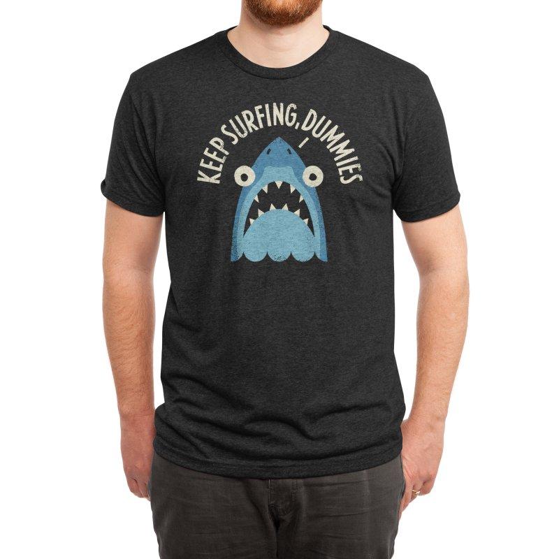 Great White Snark Men's T-Shirt by Threadless Artist Shop