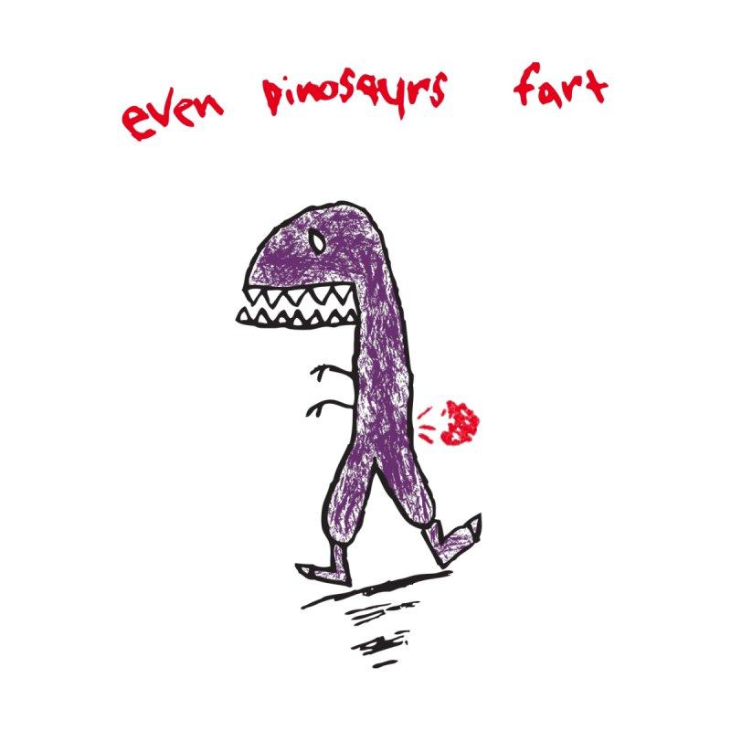 Dino Fart Men's T-Shirt by Threadless Artist Shop