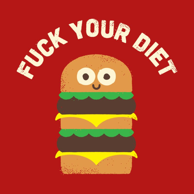 Discounting Calories Men's T-Shirt by Threadless Artist Shop