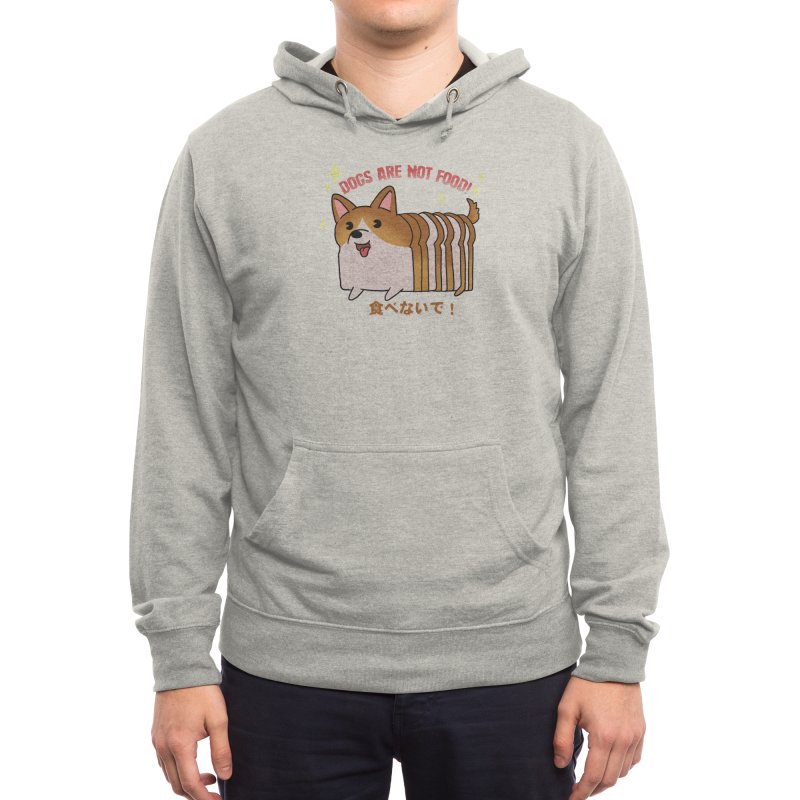 Dogs are not food! Men's Pullover Hoody by Threadless Artist Shop