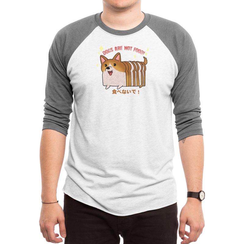 Dogs are not food! Men's Longsleeve T-Shirt by Threadless Artist Shop