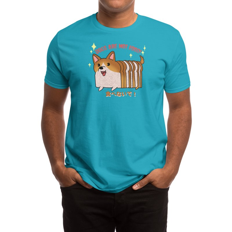 Dogs are not food! Men's T-Shirt by Threadless Artist Shop