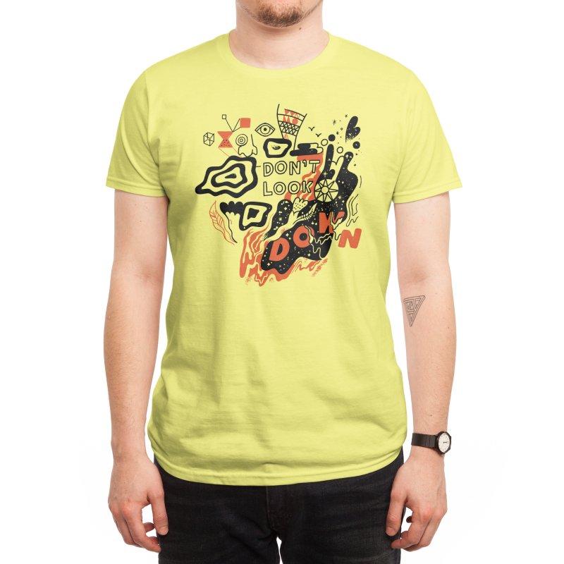 Don't Look Down Men's T-Shirt by Threadless Artist Shop