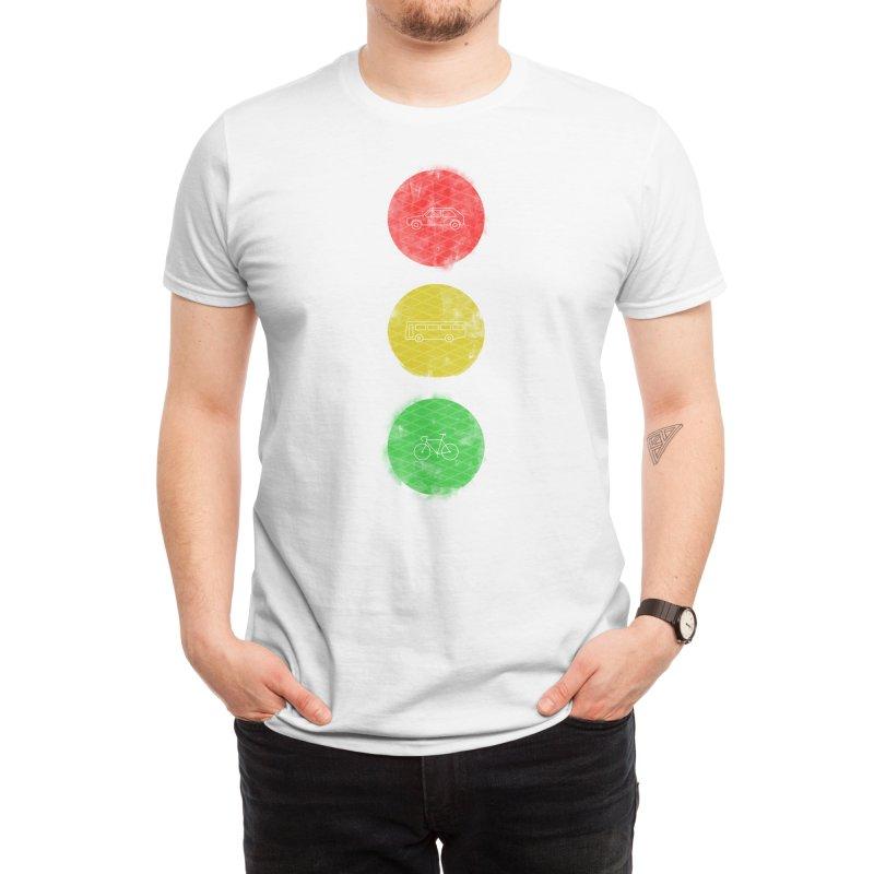 Green Means Go: DTG Men's T-Shirt by Threadless Artist Shop