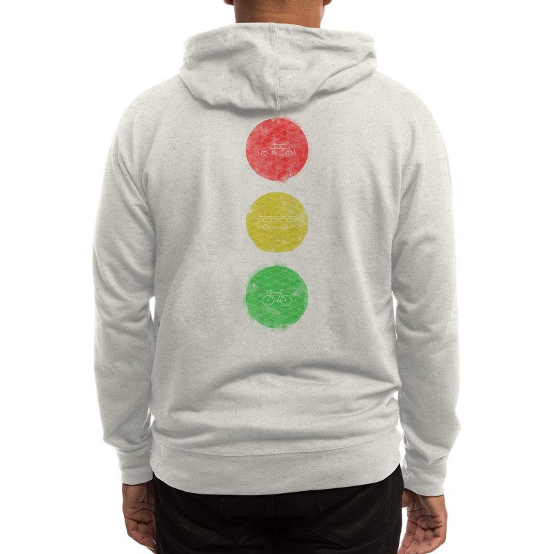 Green Means Go: DTG Men's Zip-Up Hoody by Threadless Artist Shop