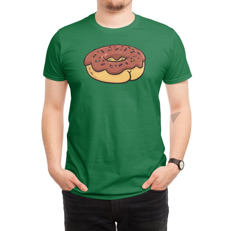 Donut Butt Men's T-Shirt by Threadless Artist Shop