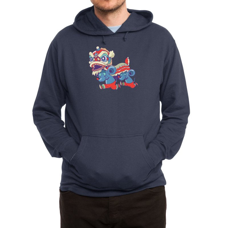 Double rat Men's Pullover Hoody by Threadless Artist Shop