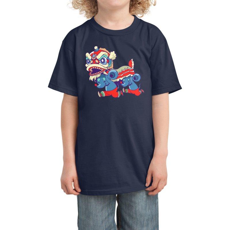 Double rat Kids T-Shirt by Threadless Artist Shop