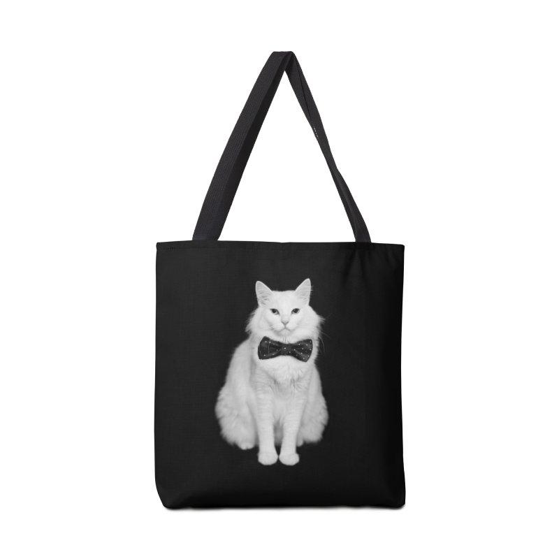 Dr. Evil + Bow Tie = Prof. Evil Accessories Bag by Threadless Artist Shop