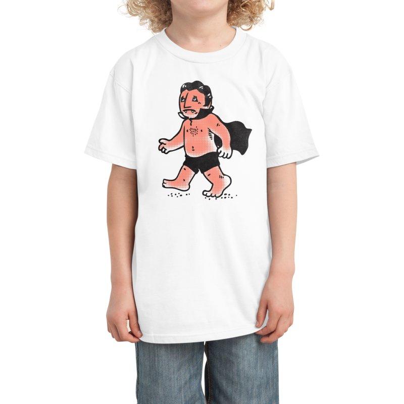 Dracula Hates Summer Kids T-Shirt by Threadless Artist Shop