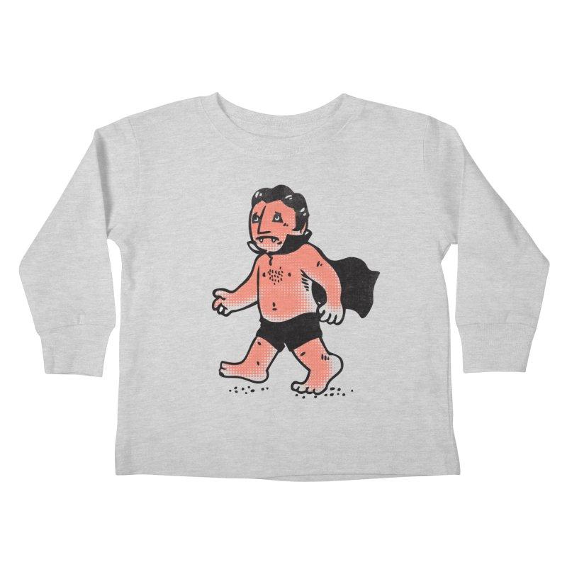 Dracula Hates Summer Kids Toddler Longsleeve T-Shirt by Threadless Artist Shop